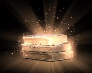 bigstock-Magic-book-35382176