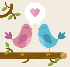 bigstock-Love-Birds-on-a-branch-56002589