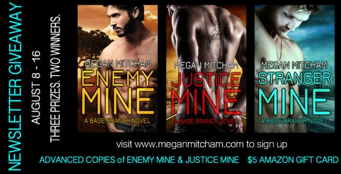 Newsletter Giveaway 8-2014