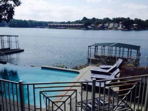 2014.09_DSRA Retreat pool and lake view